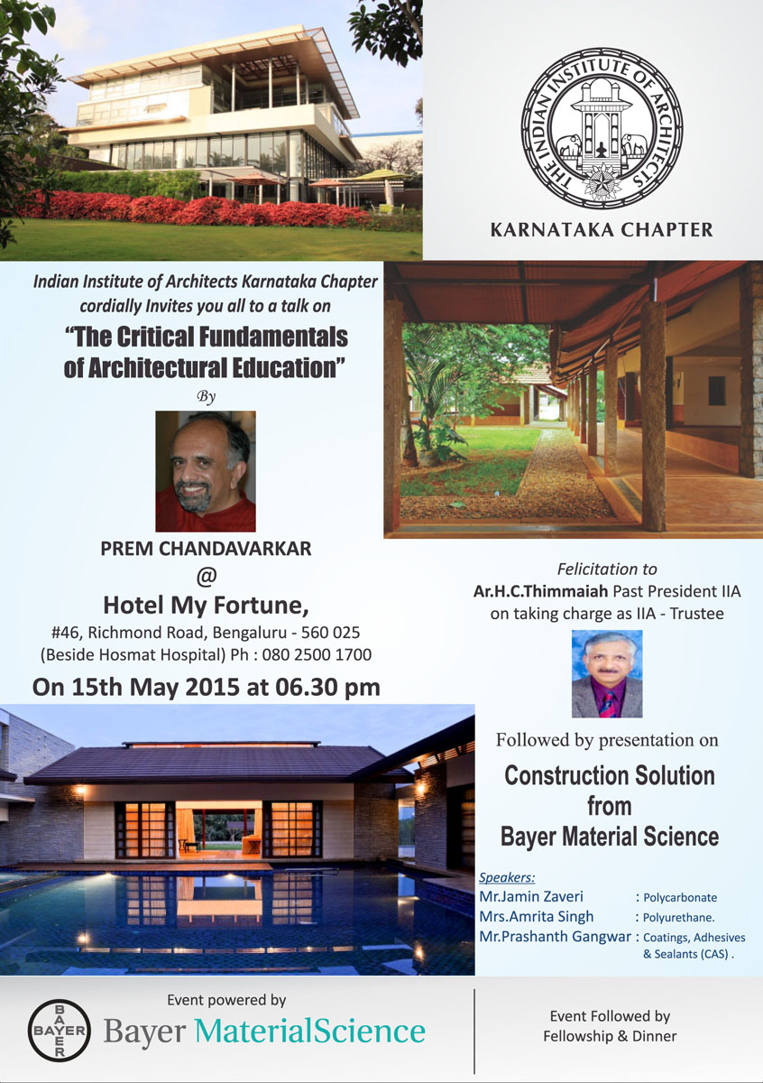 Cnt architects bangalore for Education design architects bangalore